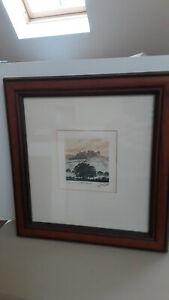 Original Etching hand printed by David Beattie