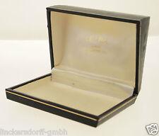 ORIGINAL LEUBA ETUI / BOX - 1960er/1970er JAHRE - SAMT & LEDER