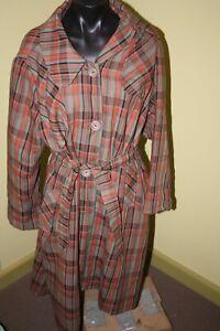 Vintage Ladies Coat  Fashion Gems of Melbourne Size 14 - 16