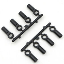 Plastic Ball Ends 4.8x15mm 8pcs to suit 1:10 Rc Crawlers, cars and drift cars.