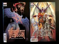 Venom 8 2018 Stegman Main + J Scott Campbell Variant Set Donny Cates Marvel NM