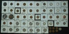 1920 - 1985 Canadian Coins (56 coin lot)