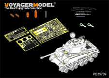 "PE per la seconda guerra mondiale US M4A3E8 Sherman ""Easy EIGHT"" Basic, 35709, 1:35, Voyagermodel"