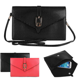 Women Leather Shoulder Crossbody Bag Purse Case For iPhone 12 Pro Max/11 Pro Max