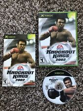 Knockout Kings 2002 - Original Xbox Game - Complete With Manual & Tested