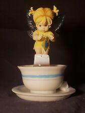 """Tea Bag Fairie"" Enesco #116566 My Little Kitchen Fairies 2003"