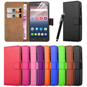 Luxury Wallet Pouch Leather Book Flip Card Case Cover For Various Mobile Phones