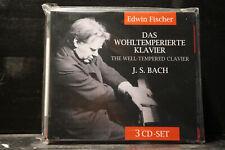 Bach - Das Wohltemperierte Klavier / Edwin Fischer   3 CDs