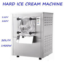 CE Commercial Hard Frozen Ice Cream Machine Stainless Steel Ice Cream Maker