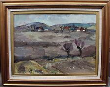 "Karl Enock Ohlsson 1889-1958, ""zeitiges Primavera"", datato 1932"