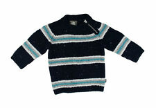 Gestreifte Baby-Pullover & -Strickwaren für Jungen aus Baumwollmischung