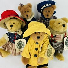 Boyds Bears Plush Jody Battaglia Designs Lot Of 5 Collectibles With Tags