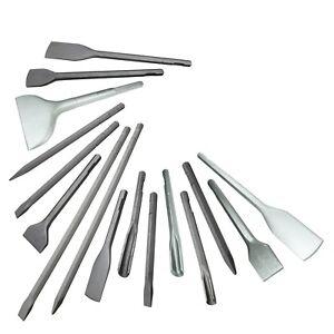 Meißel E011 passend für BOSCH USH10 (11305) HSH10 (12312) sechskant 19mm m. Nute