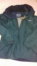 Berghaus Hidden Hood Dark Emerald Green Gortex Jacket - Size M - VGC