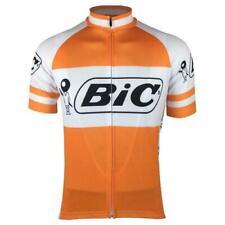 Retro 1973 Team Bic Jersey Cycling Jersey Short Sleeve