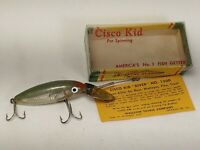 VINTAGE CISCO KID # 1300 DIVER FISHING LURE WITH BOX BAIT RARE OLD TACKLE