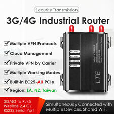 4G LTE Industrial Wireless Router W/SIM Card Slot EC25-AU Mini PCIe 2.4GHz