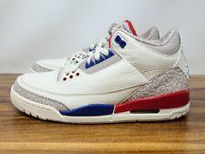Nike Air Jordan 3 Retro vuelo internacional (136064-140) Para Hombre Talla 8.5 Grado B