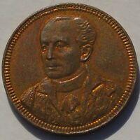 1896 Mayor George Faudel Phillips Medal Token 21mm 1.42g, High Grade & Lustre