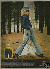 "60's ""Levi's For Gals"" Fashion Ad  1968"