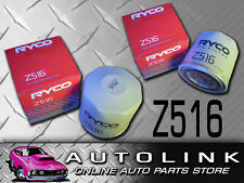 RYCO Z516 REPLACEMENT OIL FILTER FOR FORD BA BF FG XR6 XR6T & XR8 G6 G6E TURBO