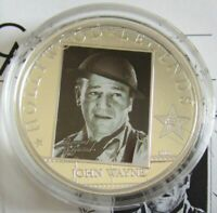Cook-Inseln 5 Dollars 2010 Hollywood Legends John Wayne Silber