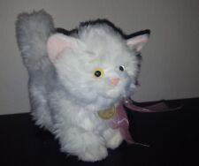 Rare Miyoni by Aurora White Fluffy Cat Standing