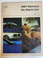 Original 1967 Mercury the Man's Car Sales Brochure Cougar Cyclone Monterey