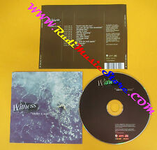 CD WITNESS Under A Sun 2001 Europe ISLAND RECORDS CIDX 8107  no lp mc dvd (CS3)