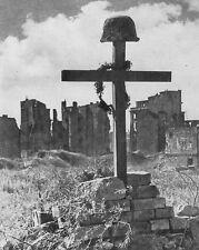 "Polish Soldier's Grave in Warsaw 8""x 10"" World War II WW2 Photo 536"