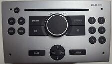 """Blaupunkt Autoradio CD 30 mp3-pour marque de voiture Opel """"argent"""" avec garantie!"""