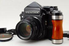 【MINT+++】Pentax 67 TTL Late Model Mup 6x7 w/SMC P 105mm F2.4 Grip From Japan