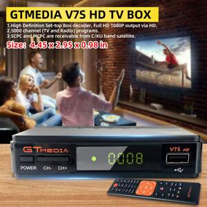 USB GTMEDIA V7S HD DVB-S2 WIFI TV Digital Video Receiver HD 1080P Set-top Box