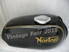 NORTON COMMANDO ROADSTER PAINTED GAS FUEL PETROL TANK WITH DECALS PINSTRIPES+CAP