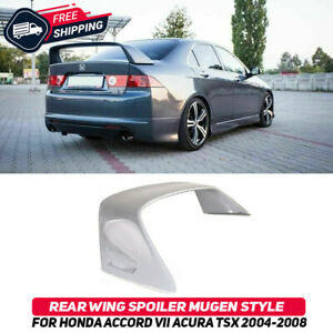 Rear Wing Spoiler Mugen Style For Honda Accord 7 Acura TSX CL 2004-2008 Body Kit