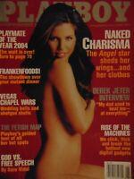 Playboy June 2004 Hiromi Oshima Charisma Carpenter Carmella Decesare    #7489