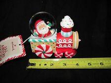 Hallmark  Snowglobe  Santa in Train  All Aboard Christmas  NEW NWT