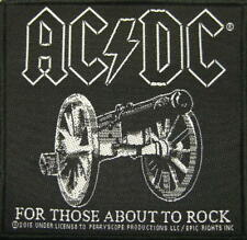 AC/DC - For Those About To Rock - Aufnäher / Patch - Neu - #0091