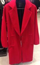 Manteaux et vestes rouges en laine pour femme