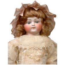 """New Listing 23"""" Bisque Shoulder Head Alt Beck & Gottschalk Lady For French Market c. 1885"""