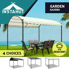 Instahut Gazebo Outdoor Iron Marquee Art Gazebos Party Wedding Event Tent Canopy