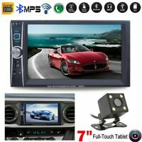 "2 DIN 7"" 1080P HD Bluetooth Car Stereo Radio HD MP5 FM Player Touch Screen"
