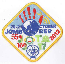 2012 SCOUTS OF CHINA (TAIWAN) - Jamboree On the Air & Internet JOTA JOTI Patch 3
