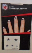 DALLAS COWBOYS 20 TEMPORARY FINGERNAIL TATTOOS FAST FREE SHIPPING