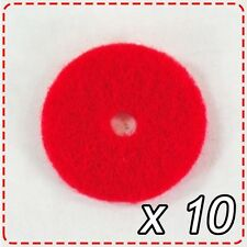 10 x Red Sewing Felt for Spool Holder - Thread Disk Janome Elna Brother Bernina