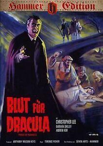 Blut für Dracula (Hammer-Edition) von Terence Fisher | DVD | Zustand sehr gut