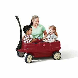 Step2 Neighborhood Wagon with Seats, Red - FREE SHIPPING