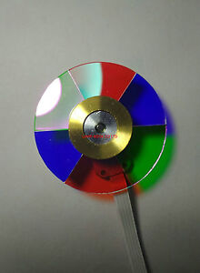 NEW ORIGINAL FACTORY COLOR WHEEL FOR OPTOMA HD20 HD22 HD200X HD2200 IS800C HD180