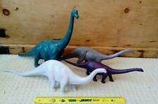 More details for vintage natural history museum 4 large herbivore dinosaur invicta toys 1970s-80s