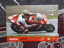 Rider info foto CARD-John LAVERTY-Buildbase DUCATI 1098